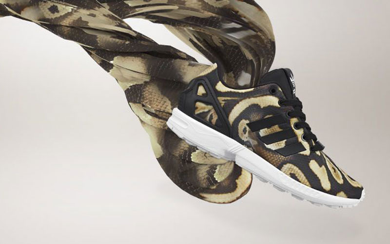 c71ed96a272f6 adidas Originals ZX FLUX goes reptilian with new  Snake  pack ...