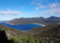 wineglass bay at freycinet national park, tasmania
