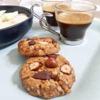 Cookies végans au beurre de cacahuète