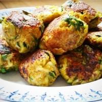 Boulettes végétariennes - Courgettes, oignons et curry