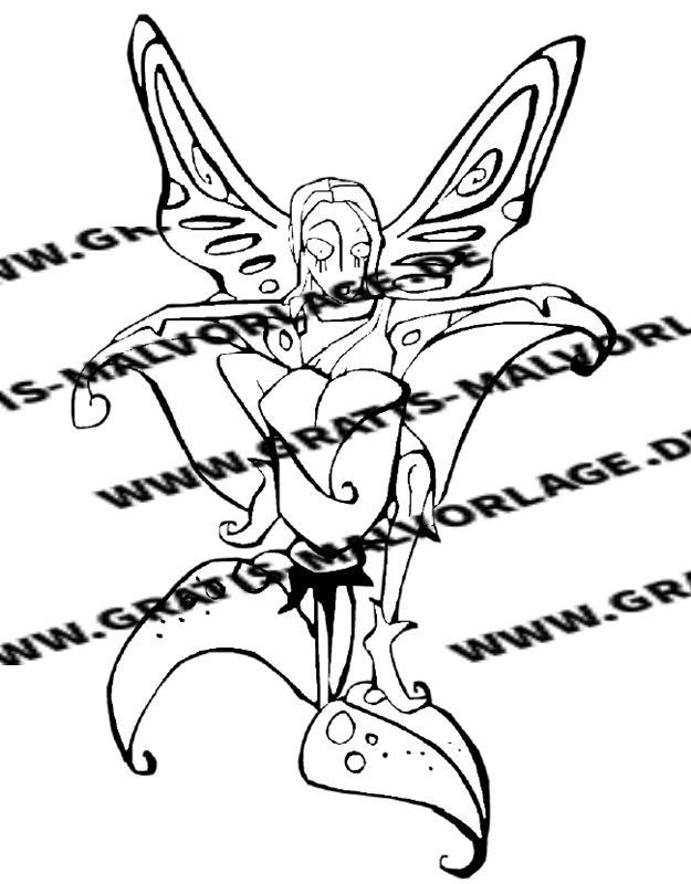 Elfen_Zwerge - Kostenlos gratis Malvorlagen herunterladen