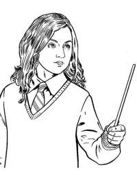 Harry Potter da colorare | Disegni Gratis