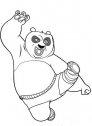 kung fu panda Po arrabbiato
