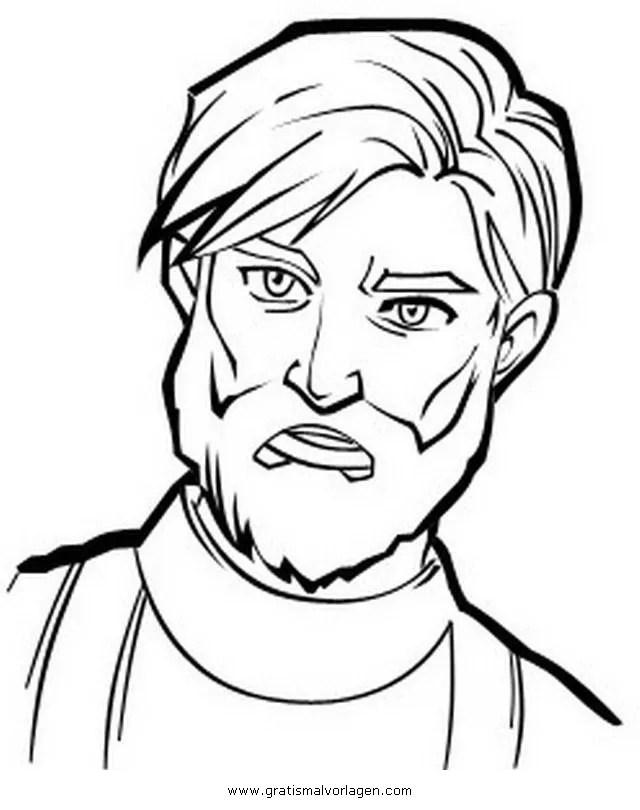 Obi Wan kenobi gratis Malvorlage in Science Fiction, Star