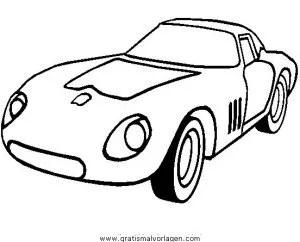 Ferrari 250 Gto Gratis Malvorlage In Autos