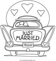 Hochzeitsauto 3 gratis Malvorlage in Beliebt13, Diverse ...
