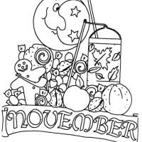 Monatsbilder November gratis Malvorlage in Beliebt09 ...