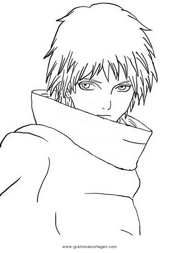 Akatsuki 1 gratis Malvorlage in Comic & Trickfilmfiguren