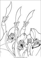 aladdin 16 gratis Malvorlage in Aladdin, Comic ...