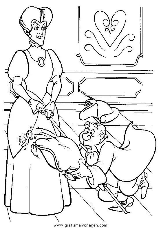 Aschenputtel 40 gratis Malvorlage in Aschenputtel Comic