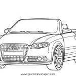 audi q7 gratis Malvorlage in Autos2, Transportmittel