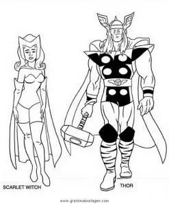 Avengers 02 gratis Malvorlage in Avengers Comic