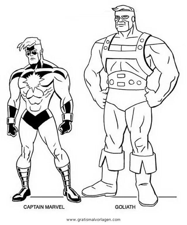 Avengers 05 gratis Malvorlage in Avengers Comic