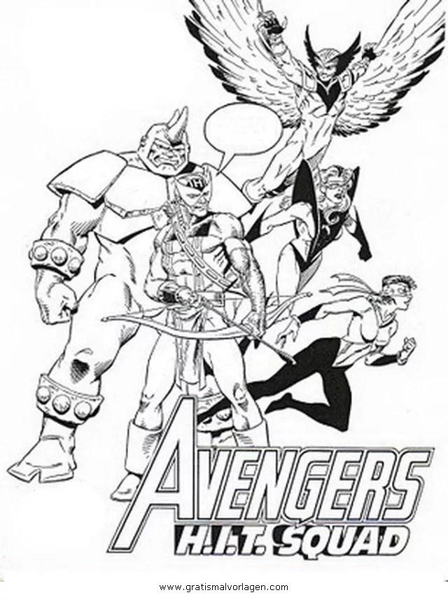 Avengers Malvorlagen Ninja