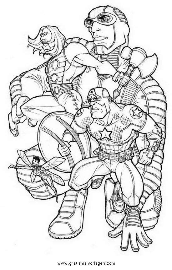 Avengers 15 gratis Malvorlage in Avengers Comic