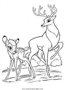 Bambi08 gratis Malvorlage in Bambi Comic