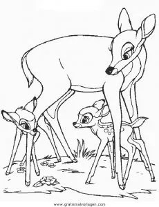 Bambi16 gratis Malvorlage in Bambi Comic