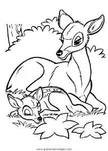 Bambi18 gratis Malvorlage in Bambi Comic
