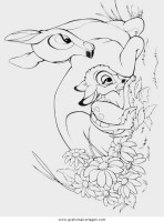 bambi37 gratis Malvorlage in Bambi, Comic ...