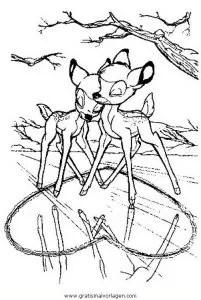 Bambi 67 gratis Malvorlage in Bambi Comic