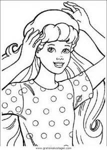 Barbie 008 gratis Malvorlage in Barbie Comic