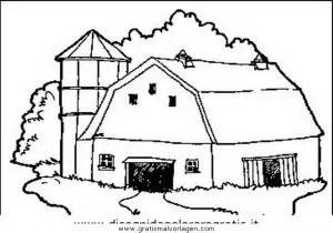 Bauernhaus 1 gratis Malvorlage in Diverse Malvorlagen