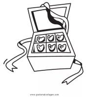 bonbons 5 gratis Malvorlage in Beliebt08, Diverse ...