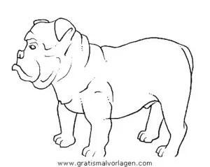 Boxer 3 gratis Malvorlage in Hunde Tiere - ausmalen