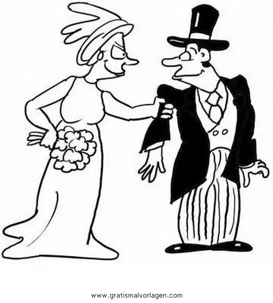 Brautpaar 14 gratis Malvorlage in Beliebt04 Diverse