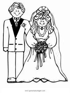 Brautpaar 16 gratis Malvorlage in Beliebt04 Diverse