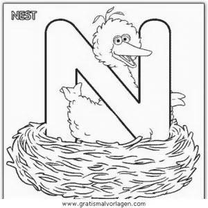 Buchstaben 108 gratis Malvorlage in Alphabet Buchstaben