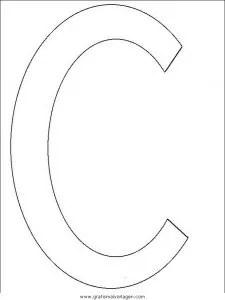 Buchstaben 159 gratis Malvorlage in Alphabet Buchstaben