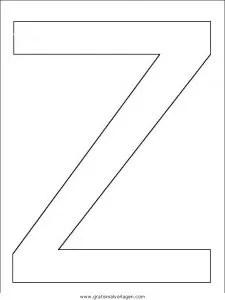 Buchstaben Malvorlage