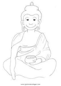 Buddha 10 gratis Malvorlage in Buddha Religionen - ausmalen