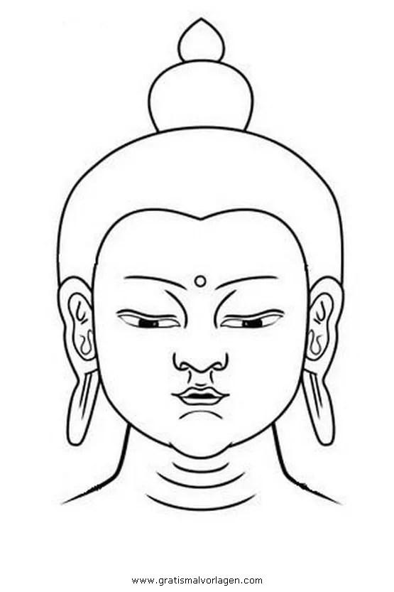 Buddha 13 gratis Malvorlage in Buddha Religionen - ausmalen