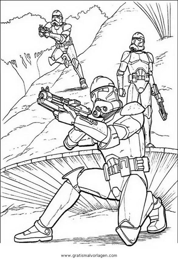 Storm Trooper star wars gratis Malvorlage in Science