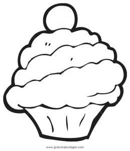 Cupcake 2 gratis Malvorlage in Beliebt11 Diverse