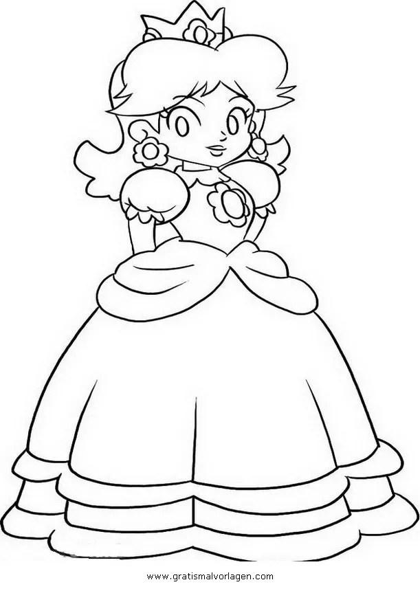 Daisy mario 2 gratis Malvorlage in Comic