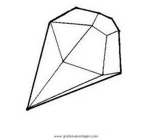 Diamant 4 Gratis Malvorlage In Beliebt02 Diverse