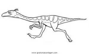 Dino zug dinozug 10 gratis Malvorlage in Comic