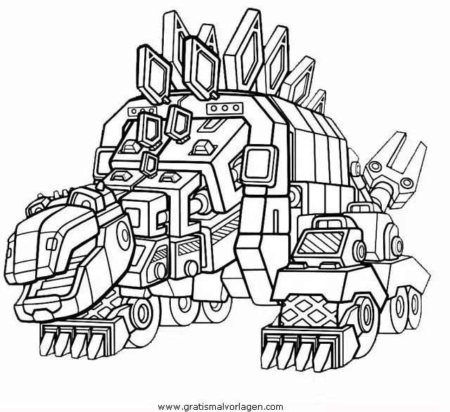 Dinotrux 4 gratis Malvorlage in Comic & Trickfilmfiguren