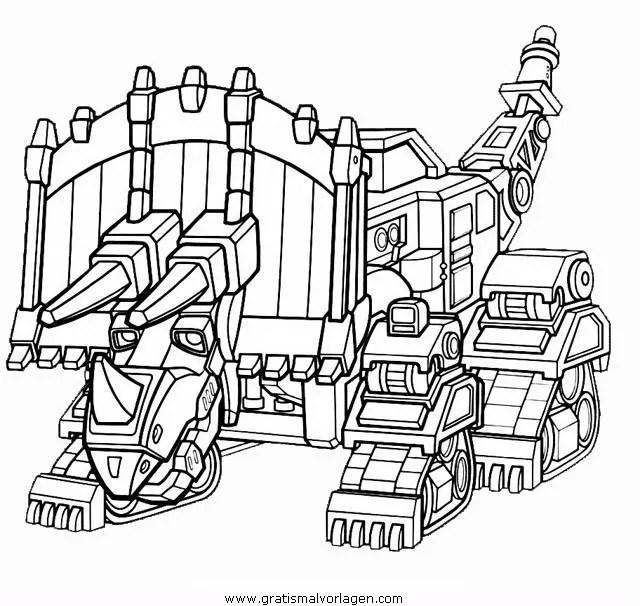 Dinotrux 5 gratis Malvorlage in Comic & Trickfilmfiguren