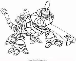 Dinotrux 6 gratis Malvorlage in Comic & Trickfilmfiguren