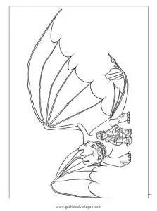 Dragon trainer 18 gratis Malvorlage in Comic