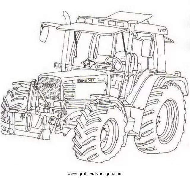 Steyr Traktor Malvorlagen