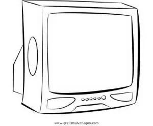 Fernseher 2 gratis Malvorlage in Beliebt02 Diverse