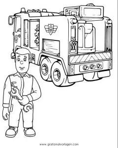 Feuerwehrmann sam 03 gratis Malvorlage in Comic