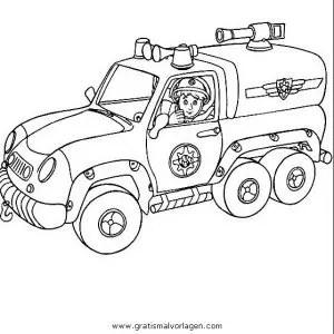 Feuerwehrmann sam 25 gratis Malvorlage in Comic