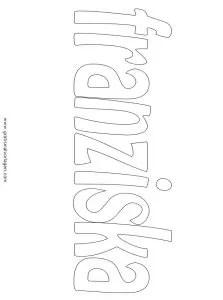 Franziska 01 gratis Malvorlage in Diverse Malvorlagen