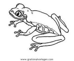 Frosche 063 gratis Malvorlage in Frösche Tiere - ausmalen
